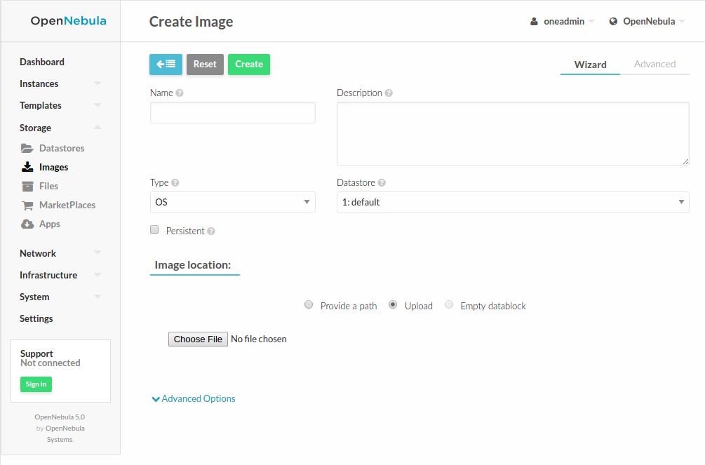 Managing Images — OpenNebula 5 8 4 documentation